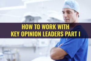 how towork with key opinion leaders