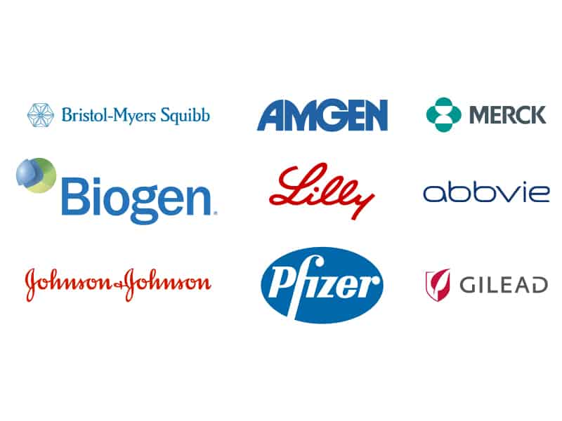 Bipharma and Medical Device Company Logos